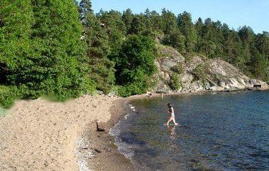Strandskog Beach - Bunnefjorden, Norway