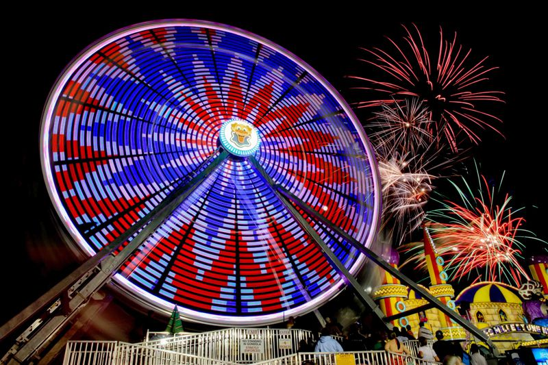 Electra Wheel at Palace Playland Maine