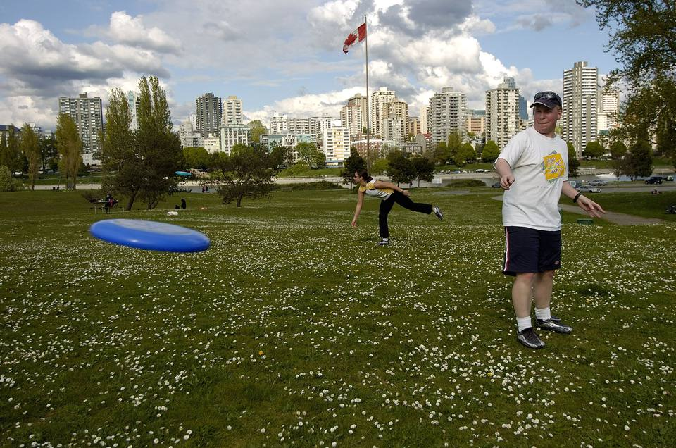 Vancouver frisbee