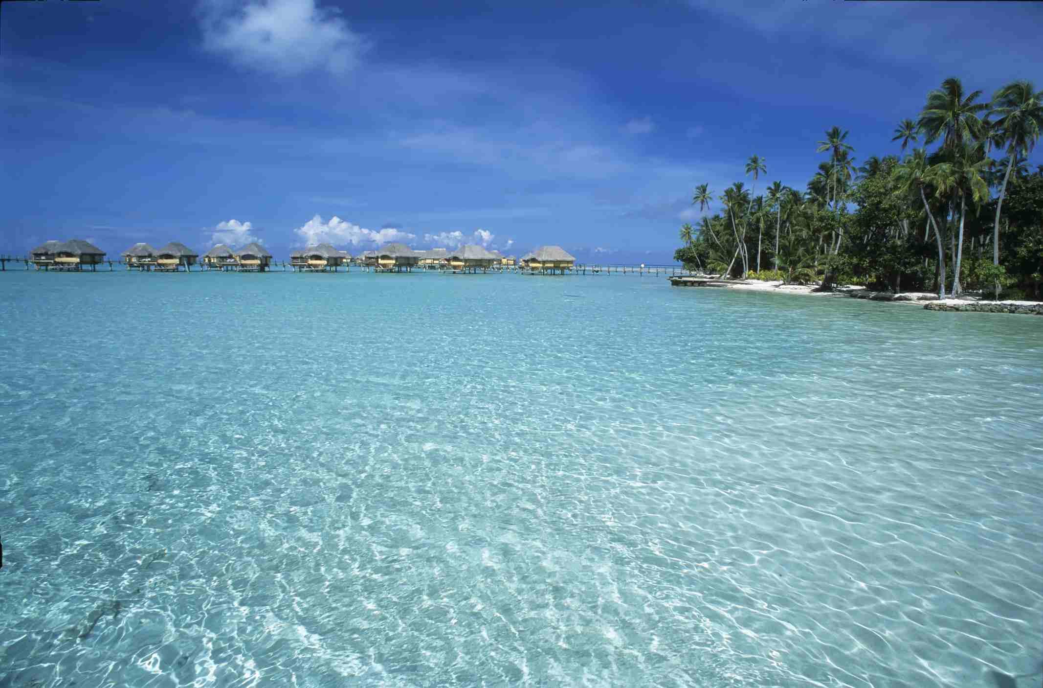 Le Taha´a resort. Tahaa island. Polynesia
