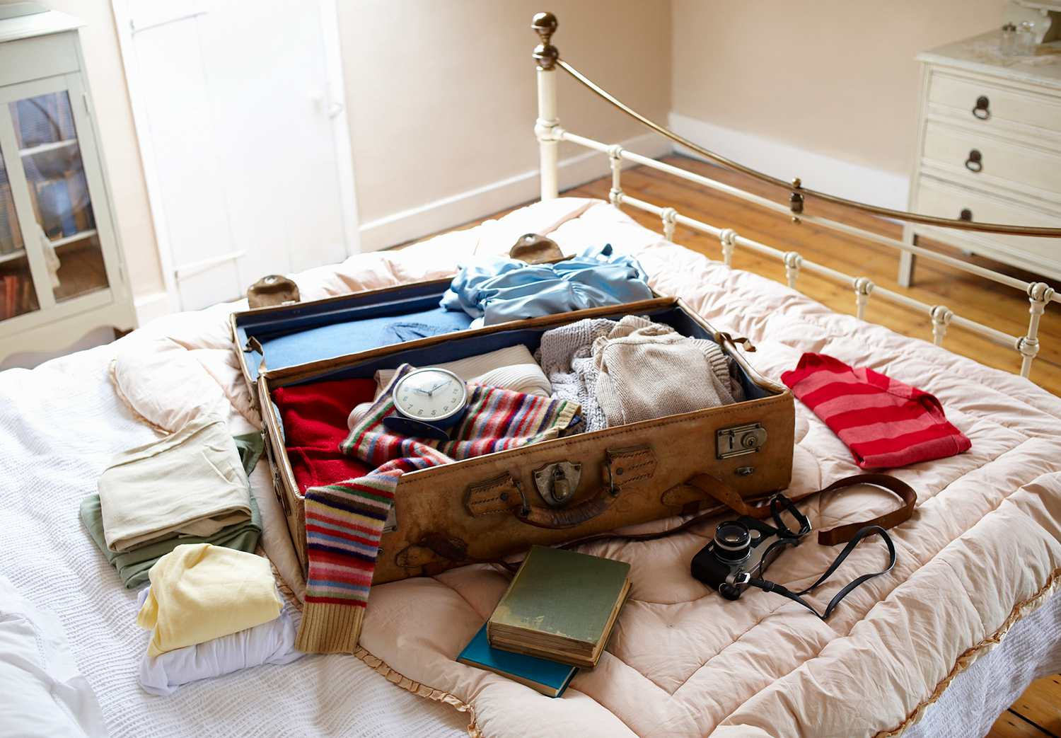 A chest of clothes