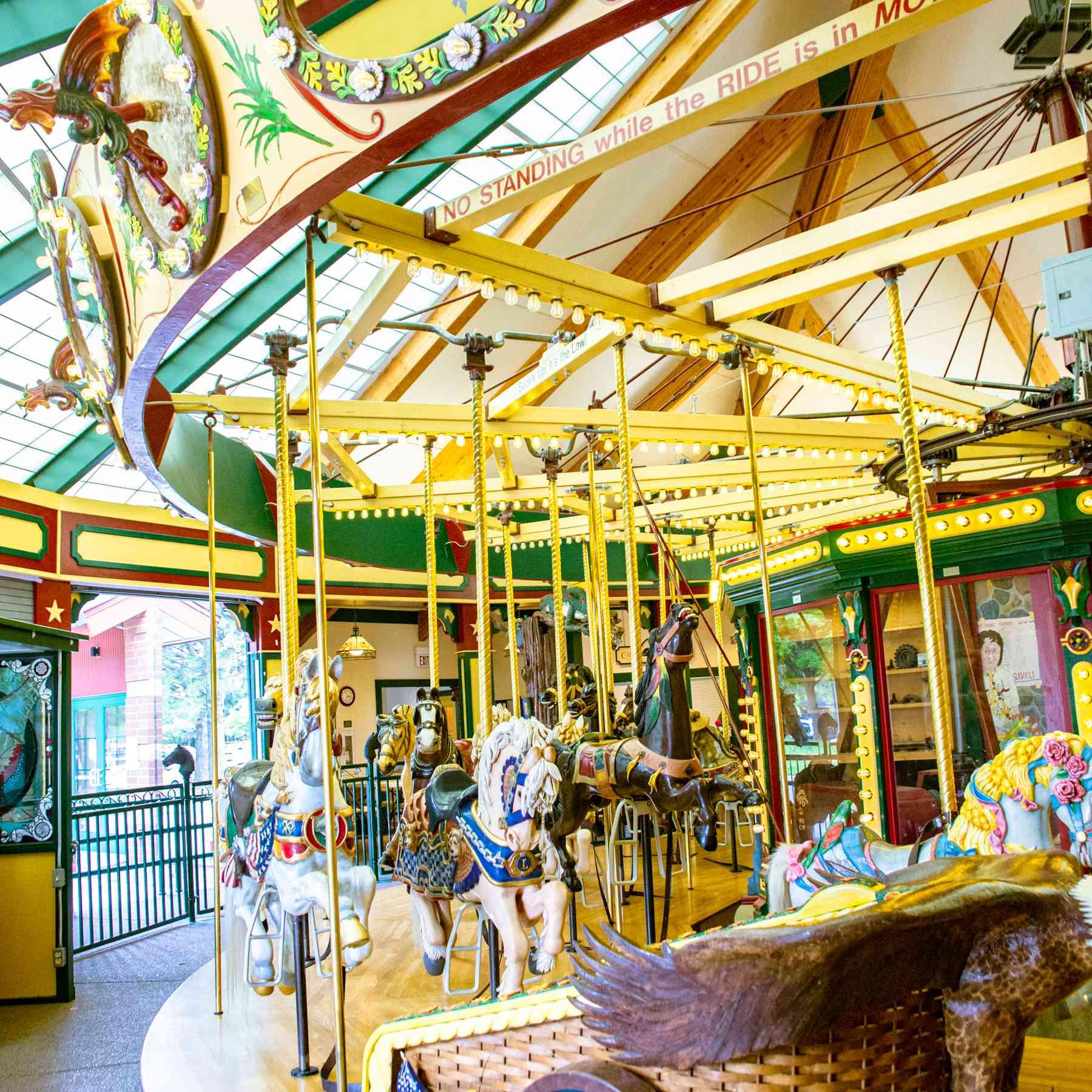 Carousel in Carras Park