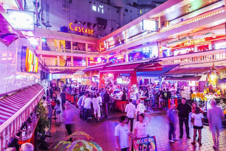 Sukhumvit, the red light district of Bangkok.