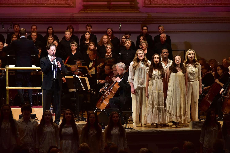 New York Pops 33rd Birthday Gala at Carnegie Hall