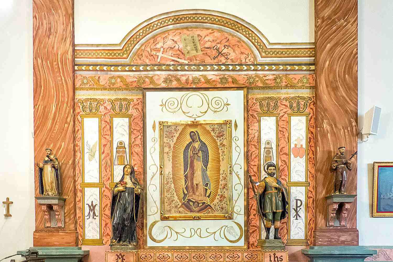 Side Altar, Mission San Buenaventura