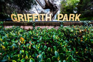 Sign for Griffith Park