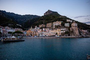 Cetara Beach, Amalfi Coast in Italy