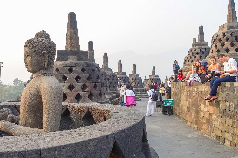 Borobudur in the morning