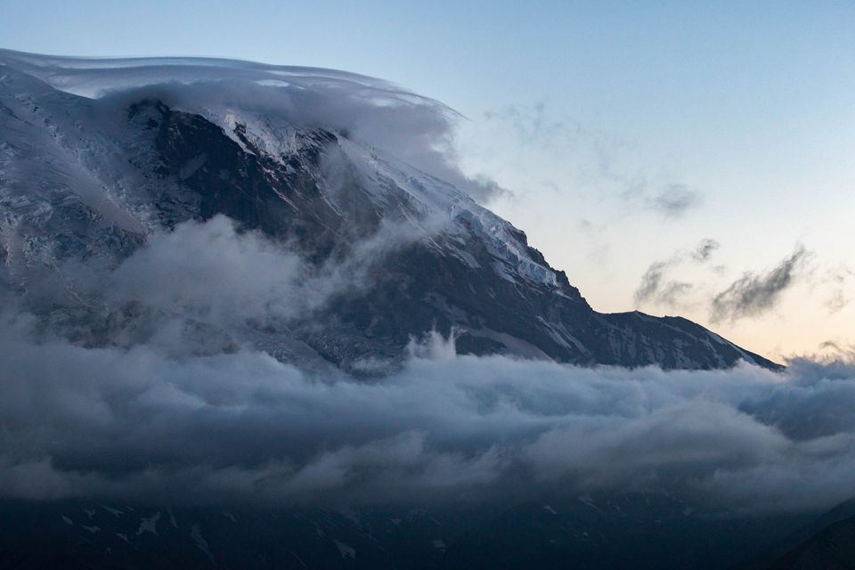 monte Parque Nacional Rainier, Washington