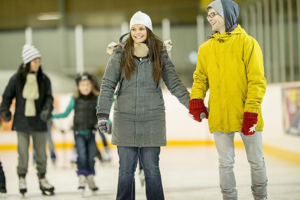 couple skating
