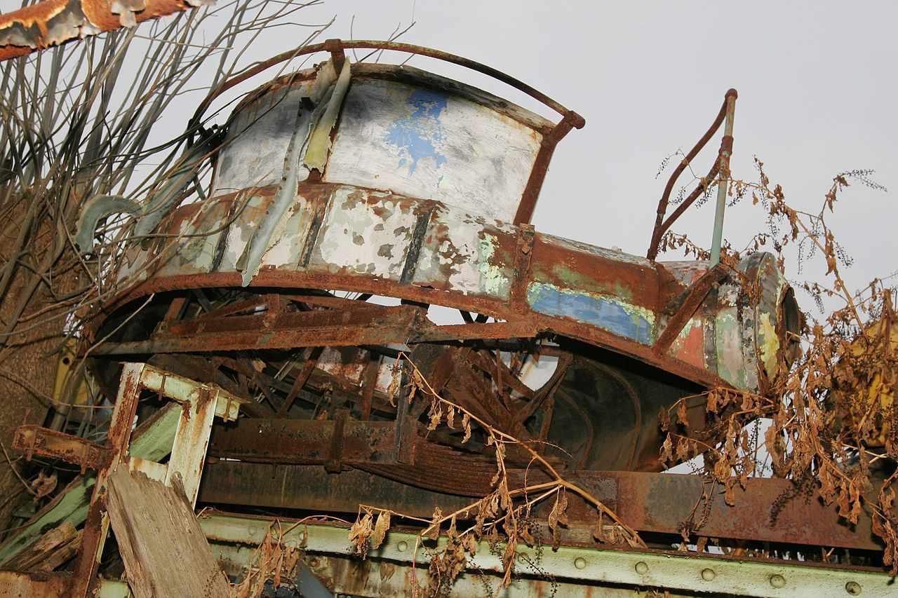 Abandoned Chippewa Lake Amusement Park
