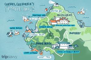 Carmel, California's 17-Mile Drive
