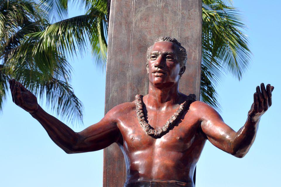 Statue of Duke Kahanamoku in Waikiki