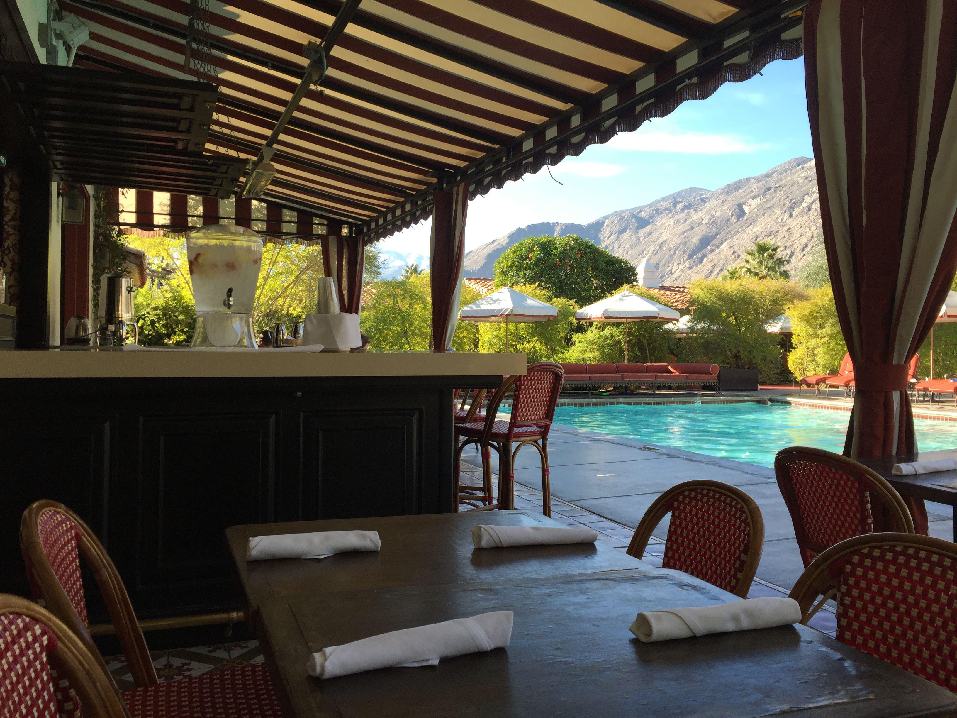 Colony Palms Hotel pool