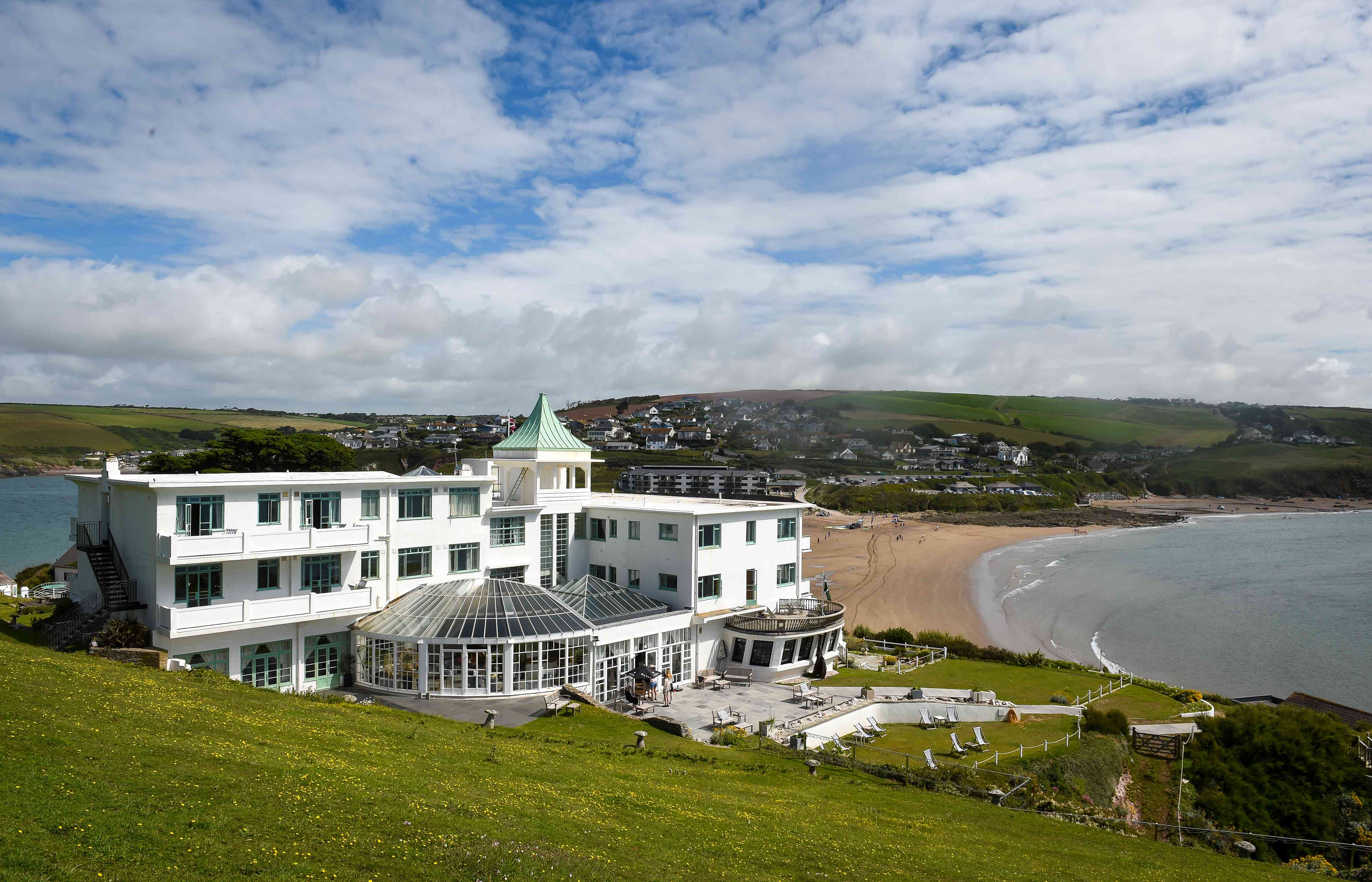 Burgh Island Hotel Opens To Guests After Coronavrius Lockdown