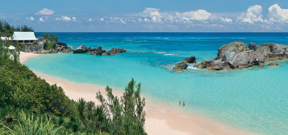 Beach at Fairmont Southampton, Bermuda