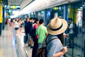 MTR platform, Hong Kong