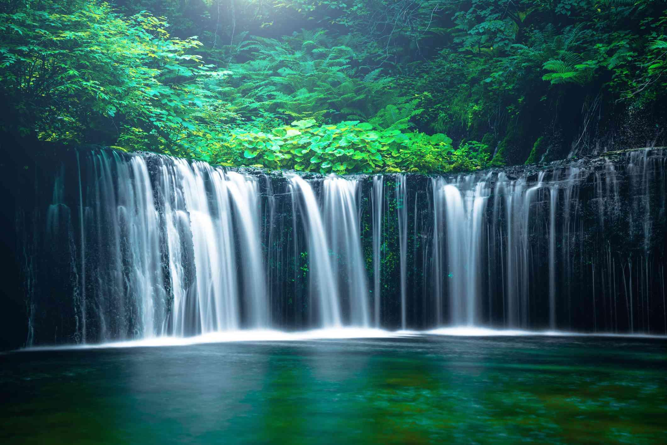 Japan Waterfall Nagano