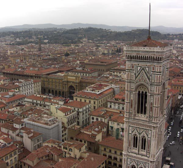 florence pictures, florence duomo dome pictures, florence bell tower pictures