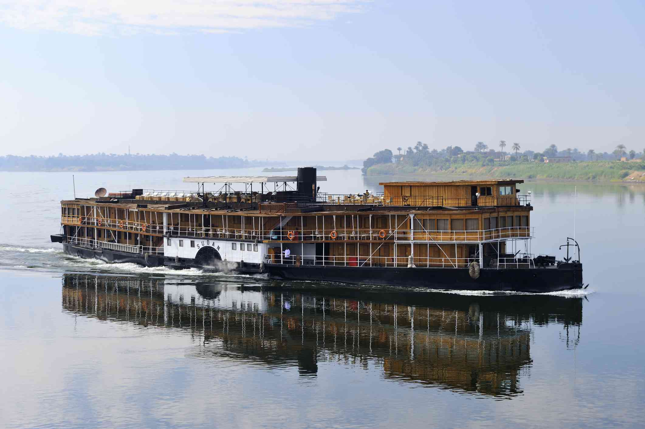 Paddle Steamer on the Nile, Egypt