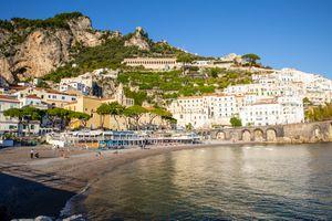 Marina Grande Beach, Amalfi Coast, Italy