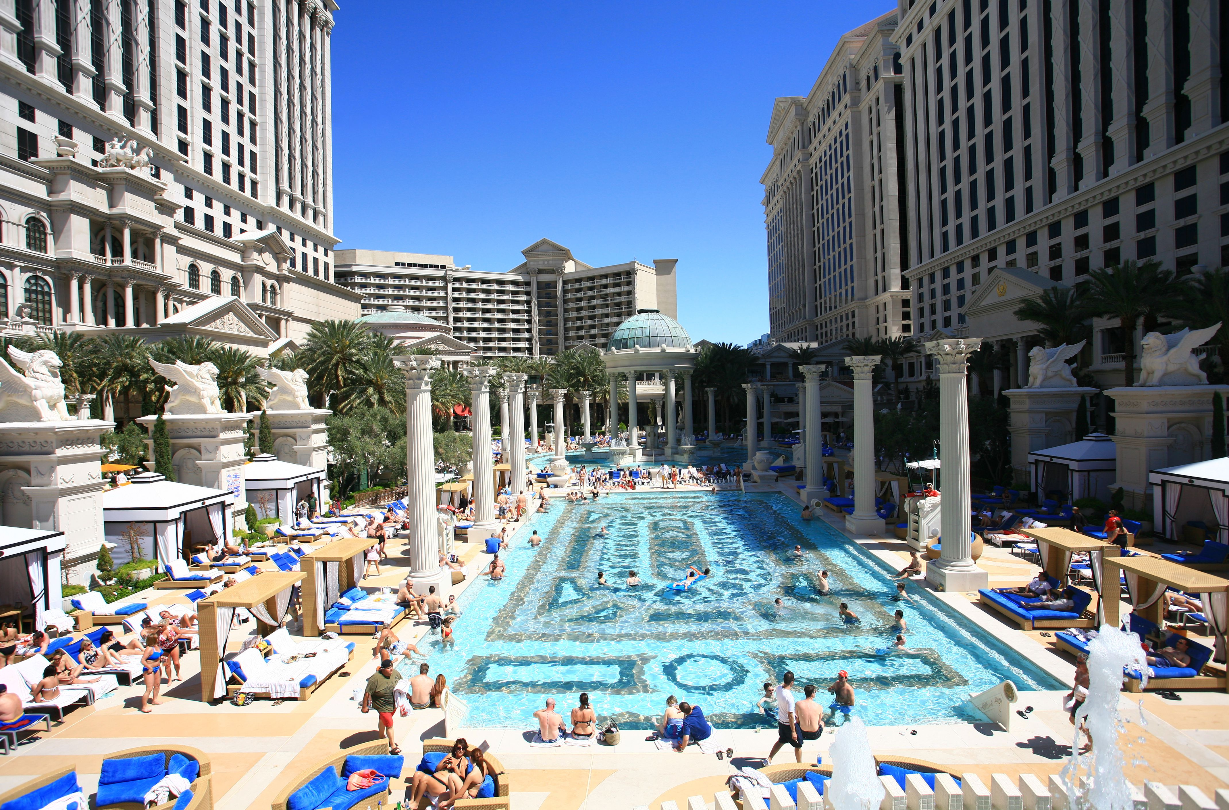 Las Vegas Pool Party at Caesar's Palace