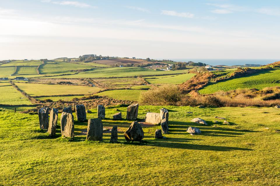A Visit to Drombeg Stone Circle in Ireland