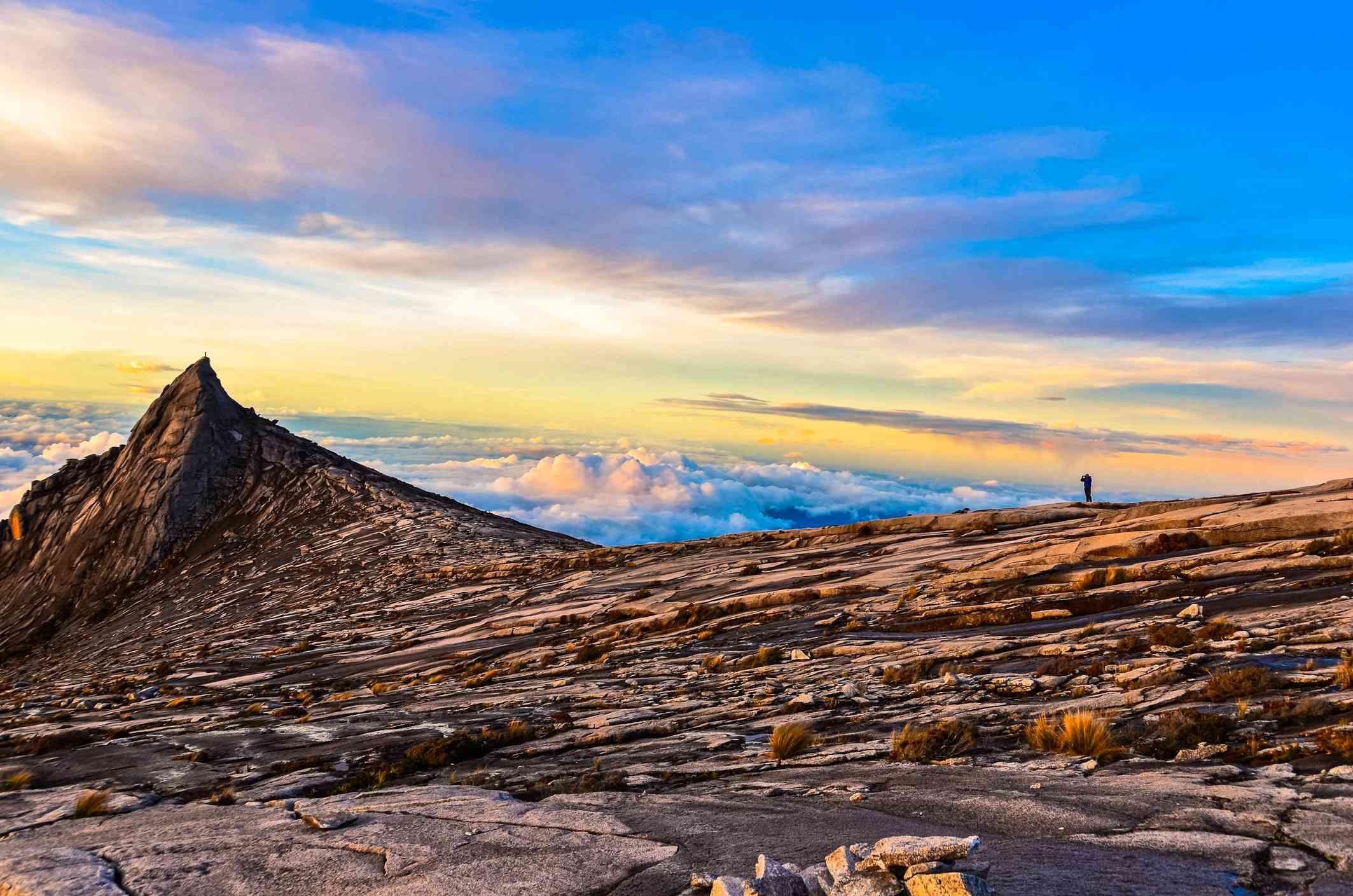 Sunrise over Mount Kinabalu, Malaysia