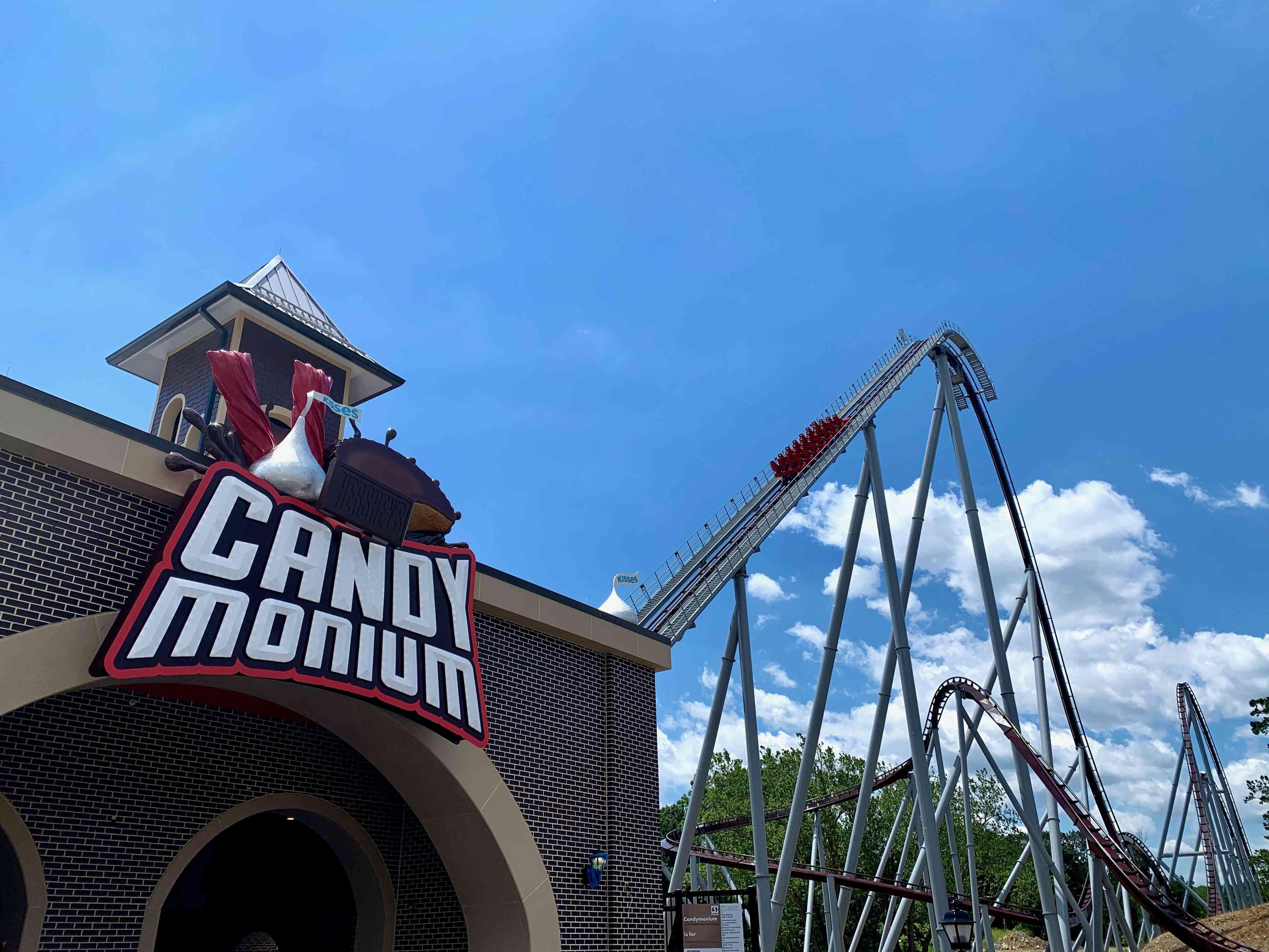 Candymonium coaster Hersheypark