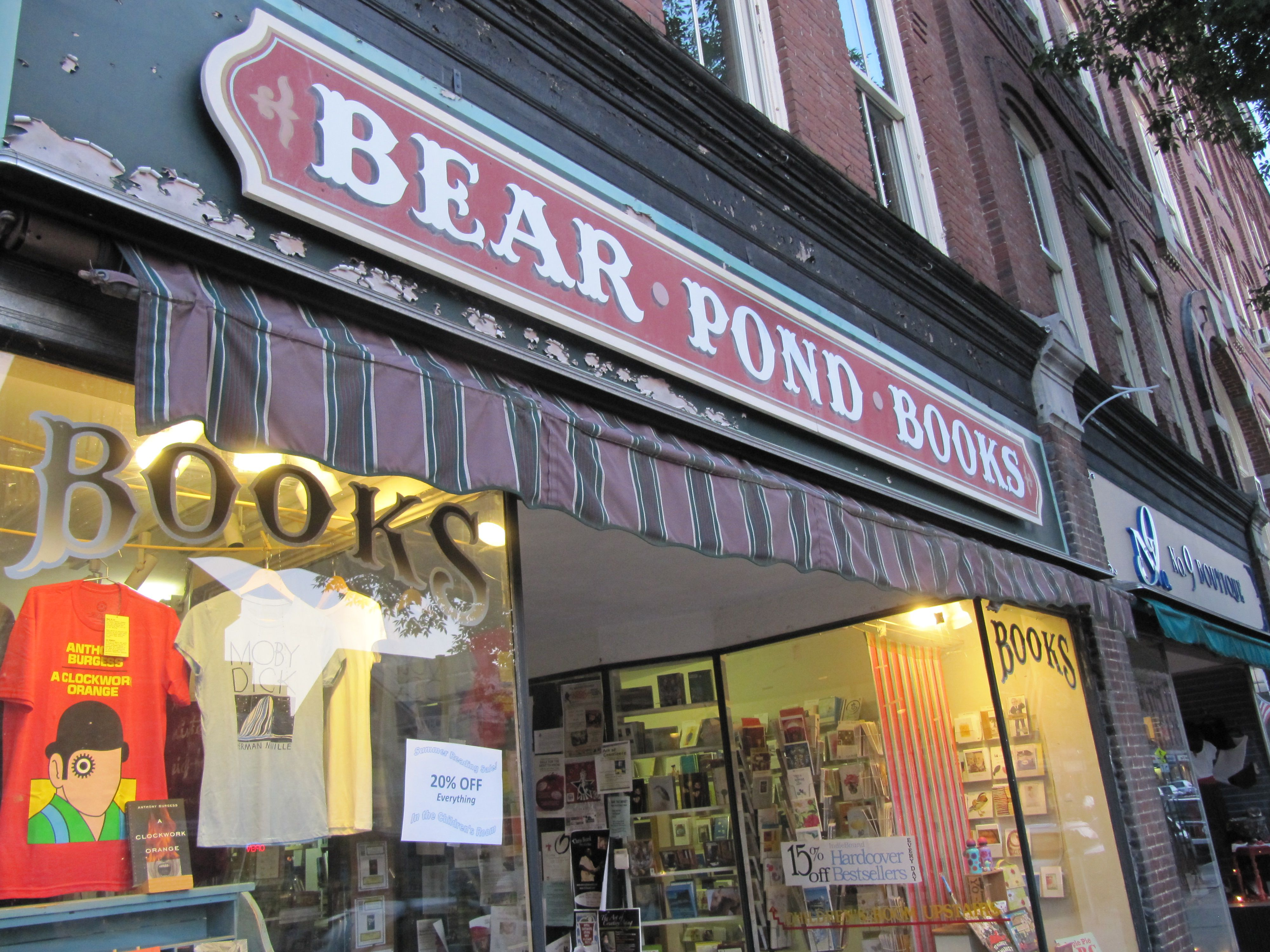 Bear Pond Books in Montpelier