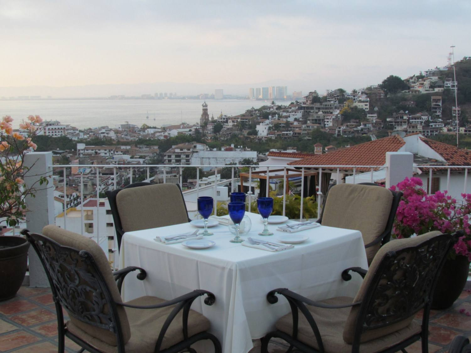 Dining with a view in Puerto Vallarta