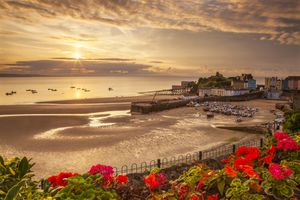 Tenby at Sunset