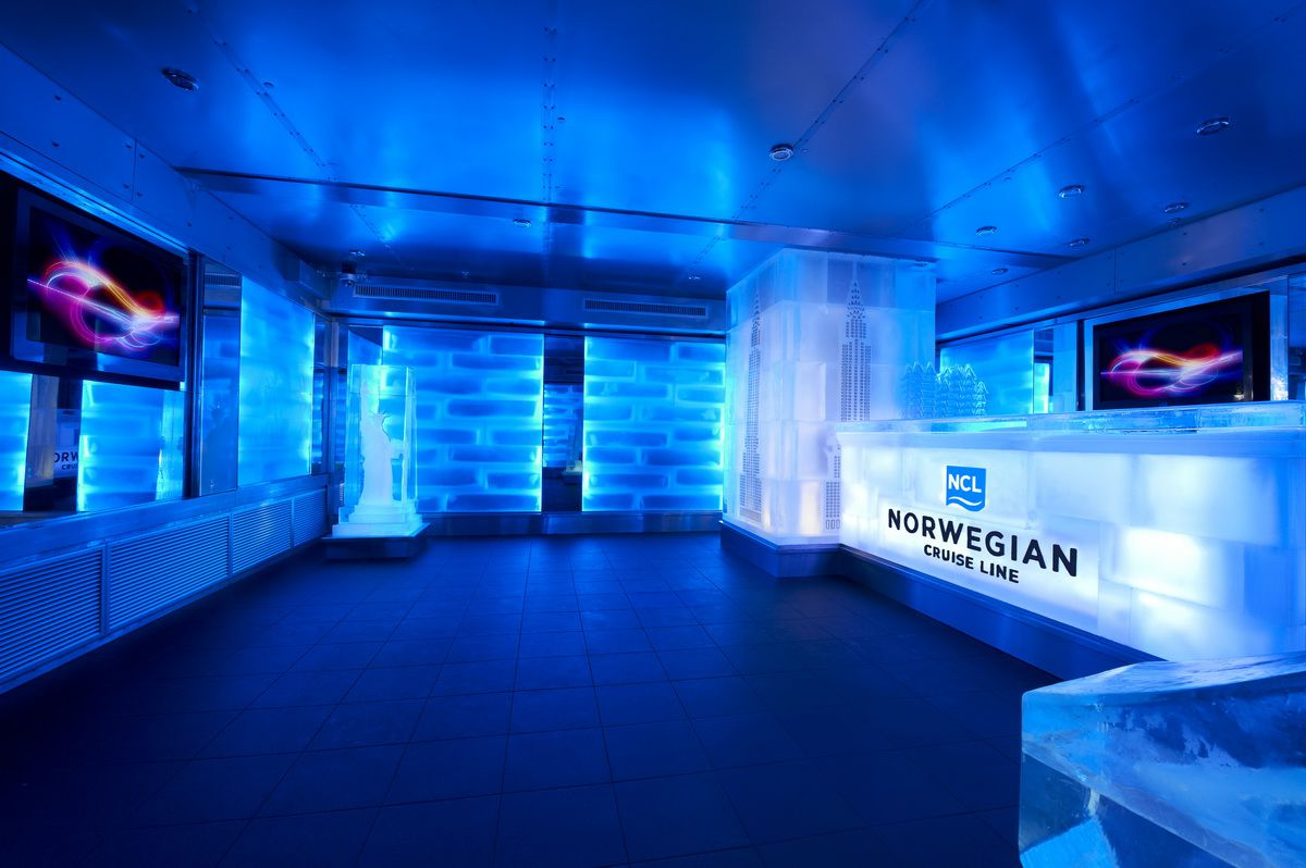 Norwegian Breakaway Ice Bar