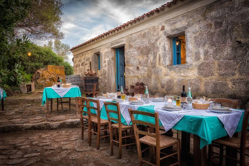 Cena Al Fresco en Italia