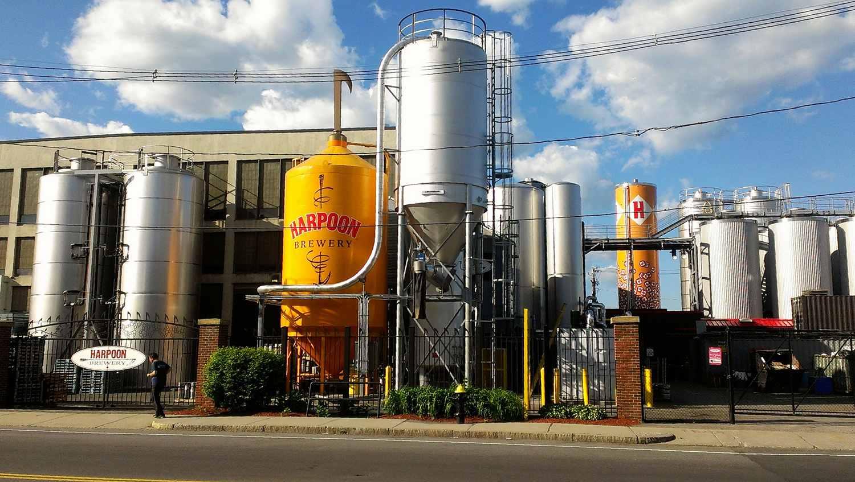 Harpoon Brewery in Boston