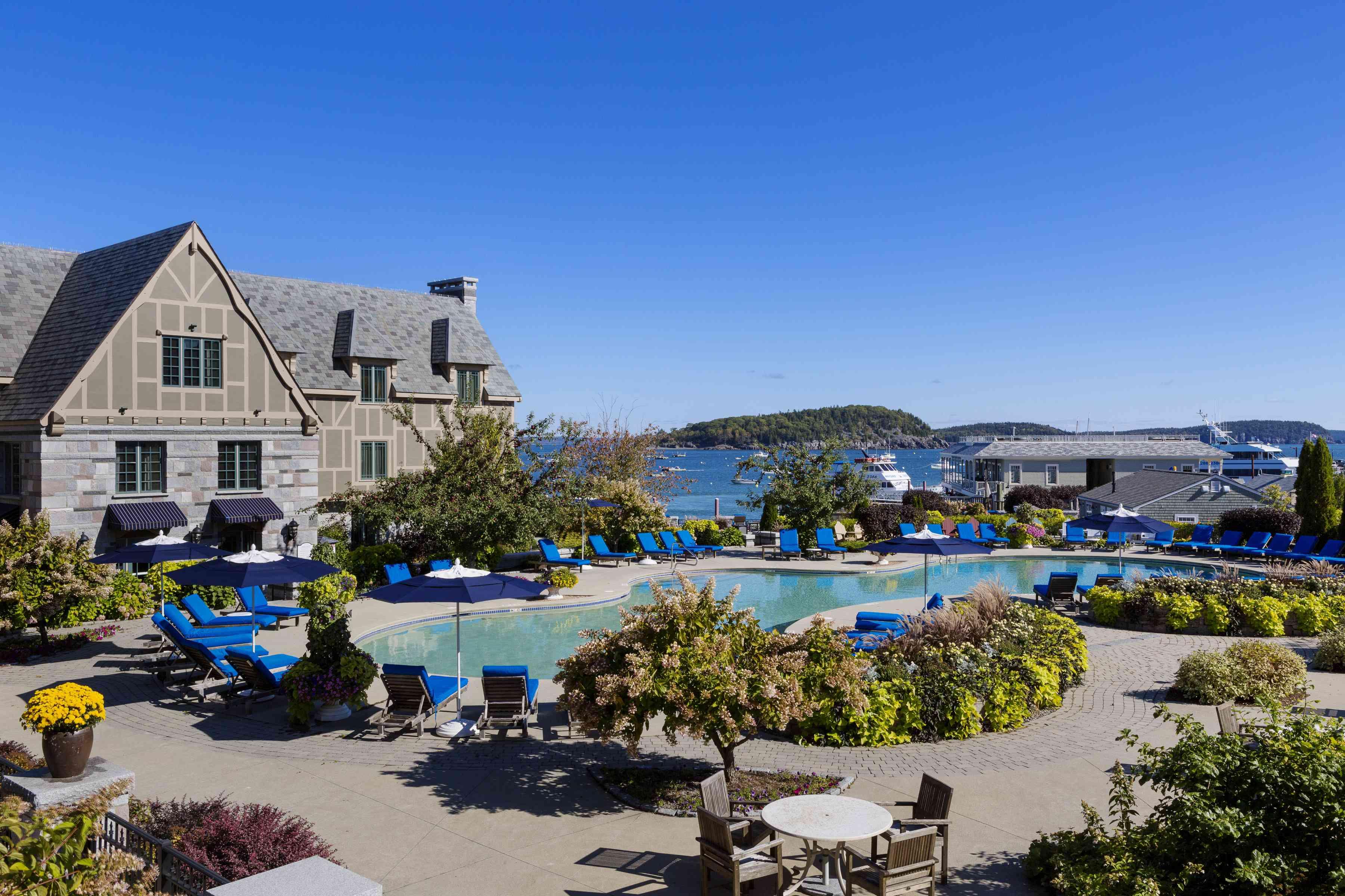Harborside Hotel Bar Harbor Maine