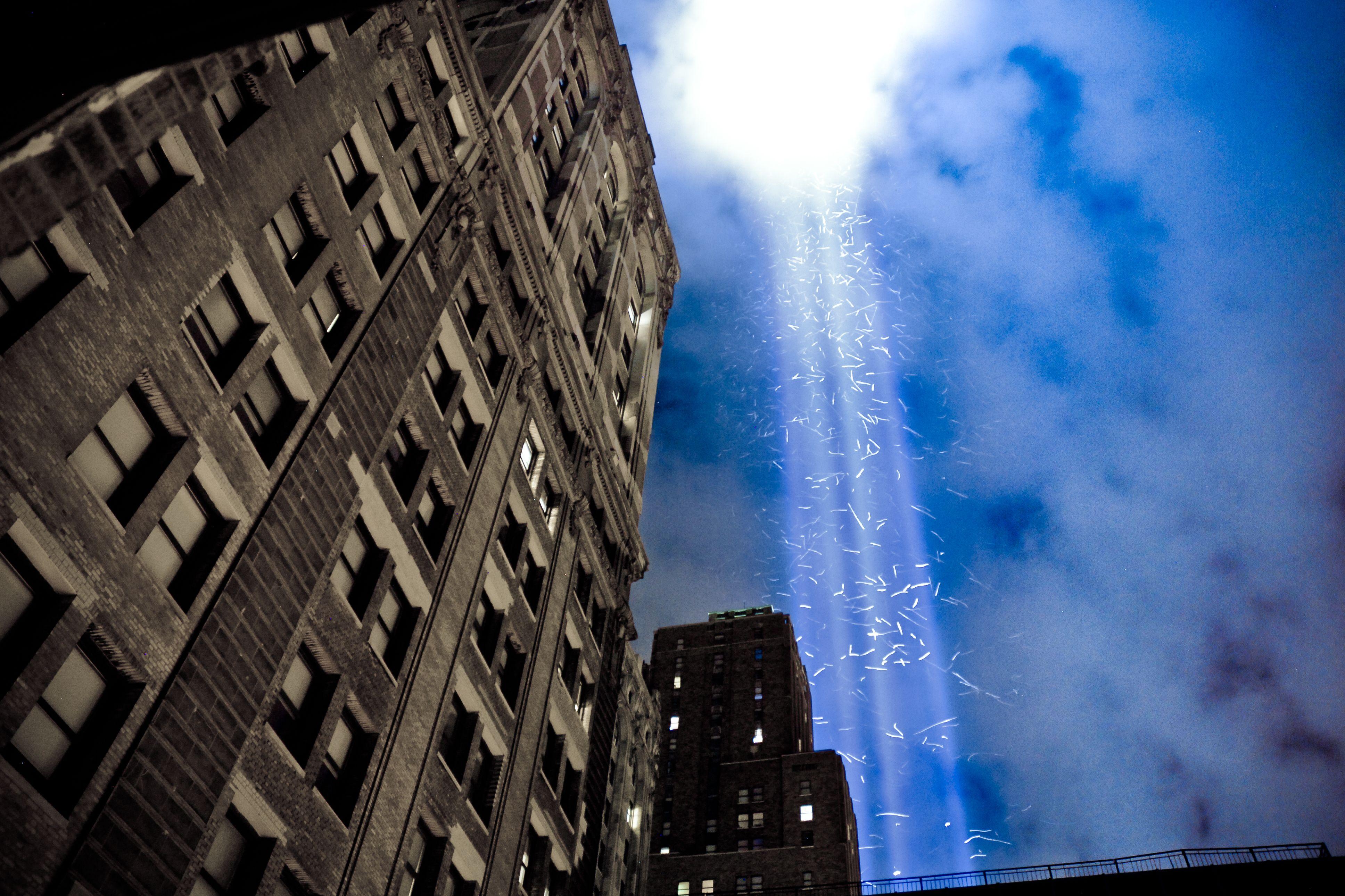 9/11 WTC Light Memorial