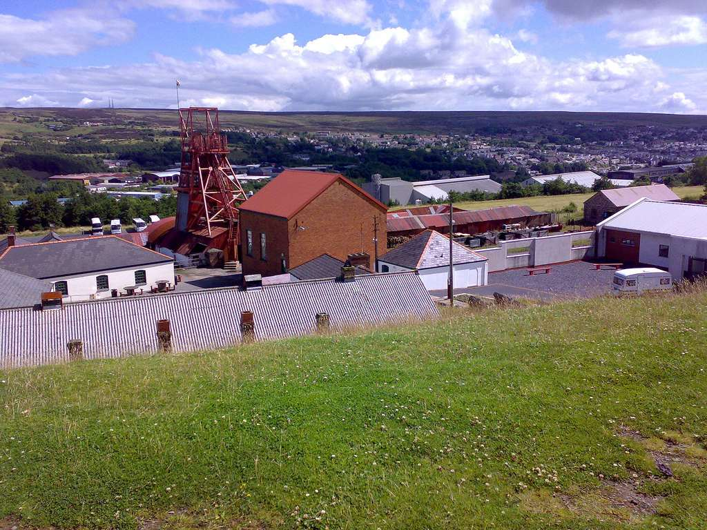 The Big Pit coal museum in wales