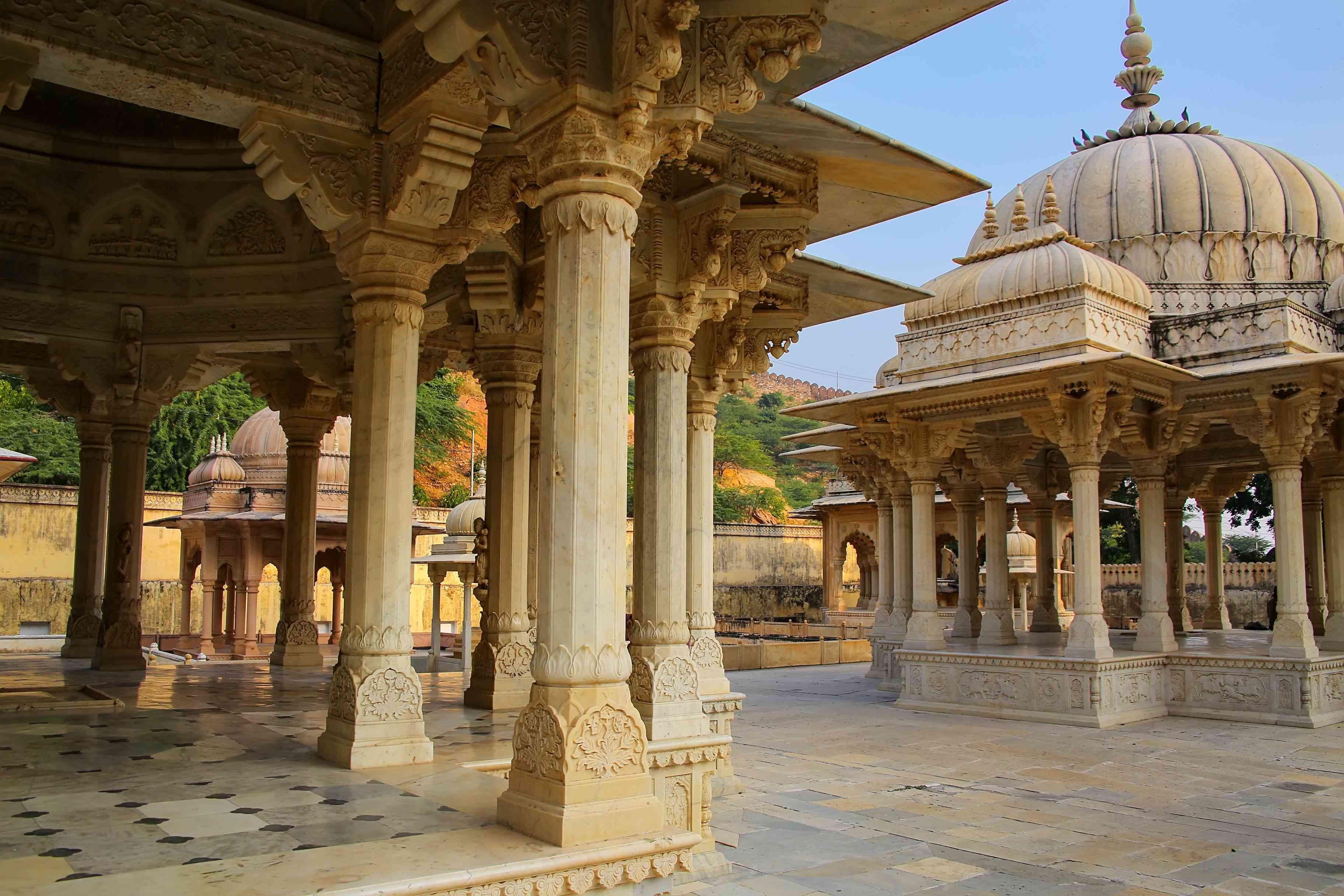 Royal cenotaphs, Jaipur.