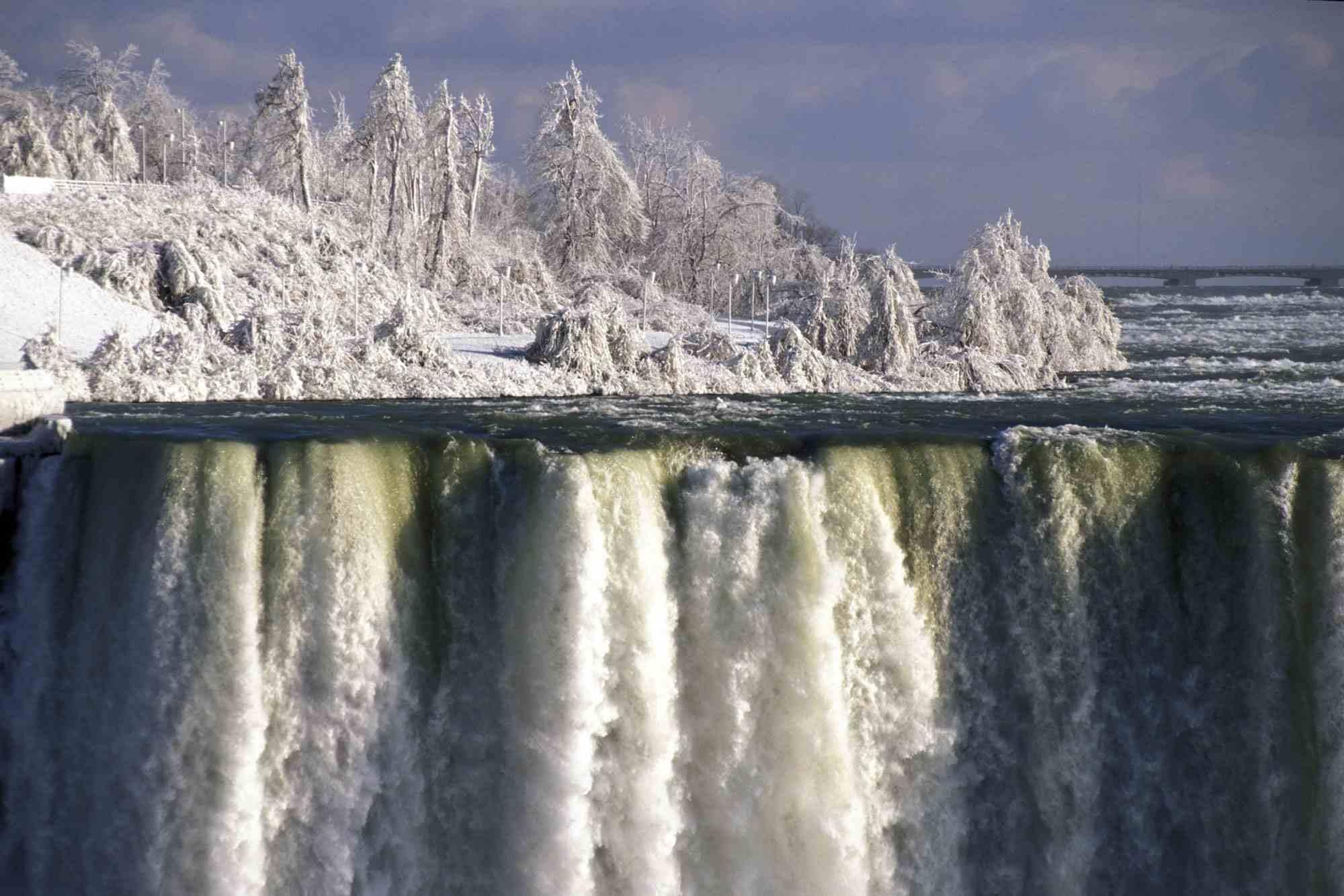 Niagara Falls at winter