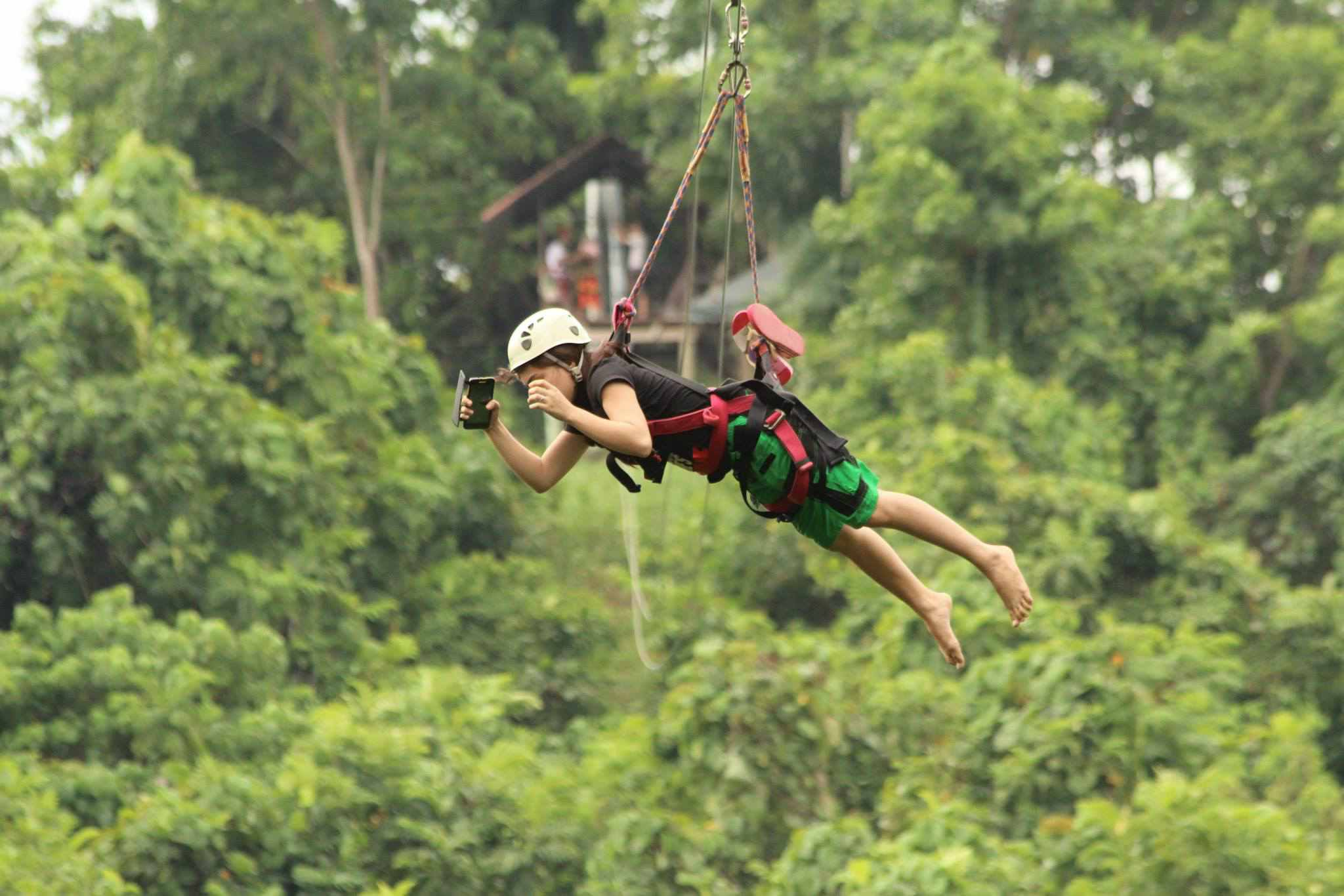 Zipline at Outland Adventure