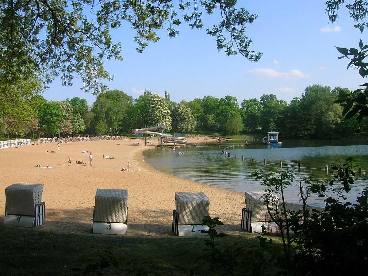 Berlin Orankesee Strandbad
