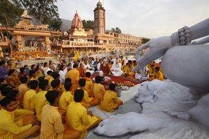 Rishikesh Ganga aarti.