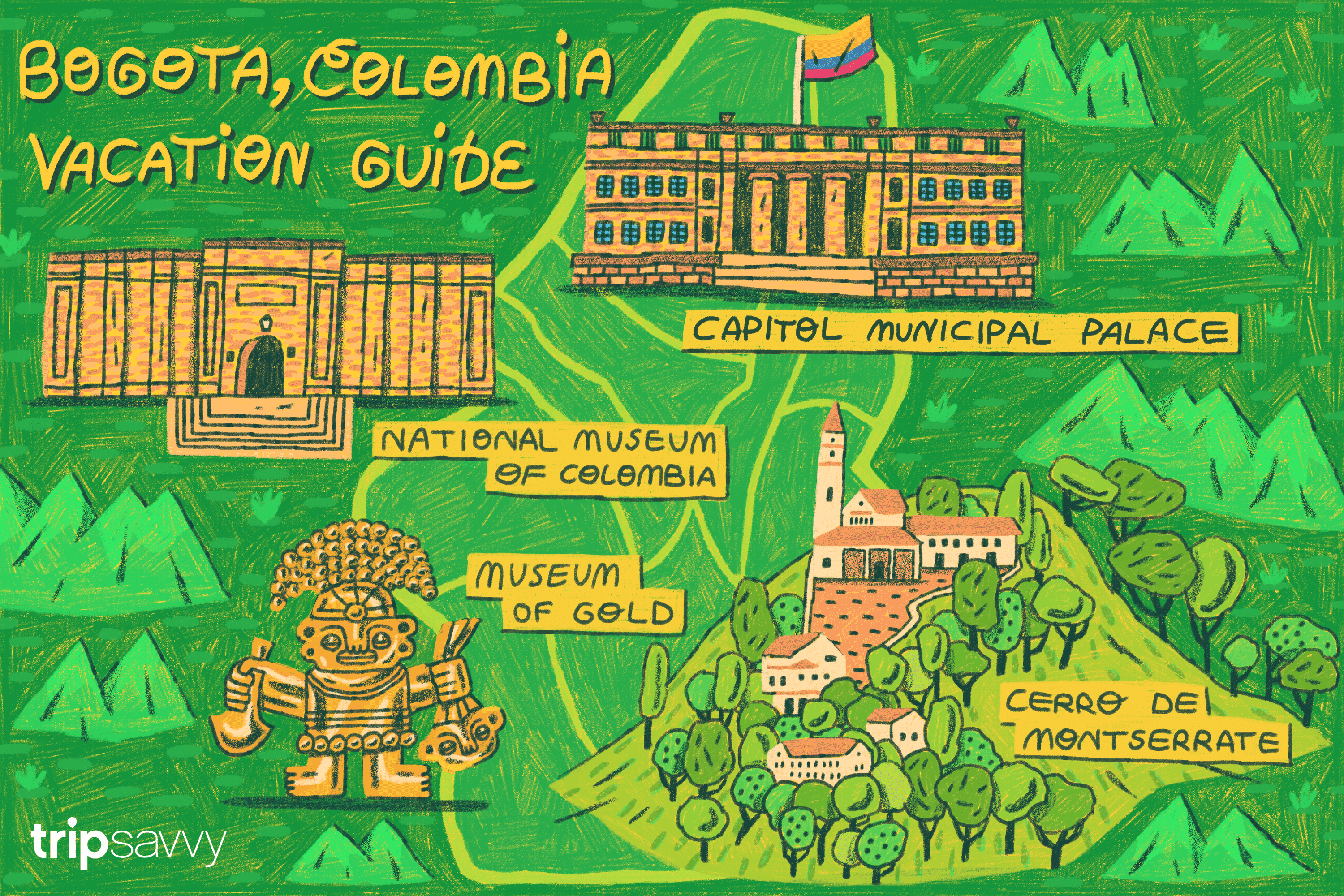 guide to Bogota, Colombia