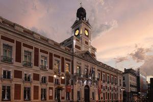 Puerta del Sol in Madrid, Spain