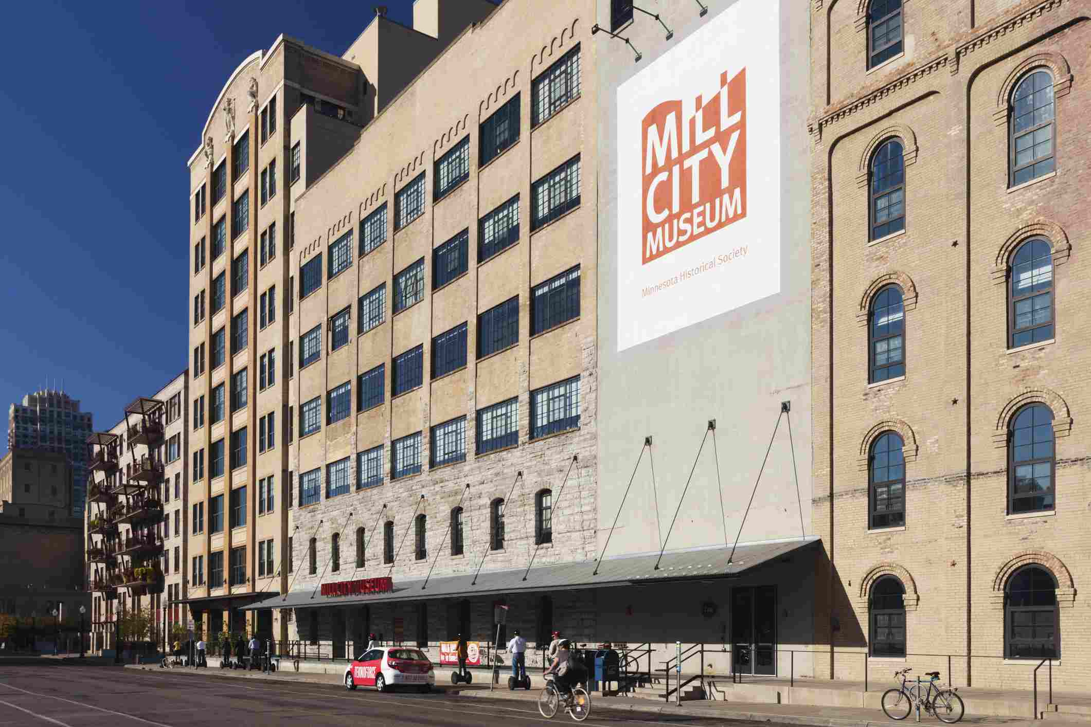 USA, Minnesota, Minneapolis, Mill City Museum, exterior