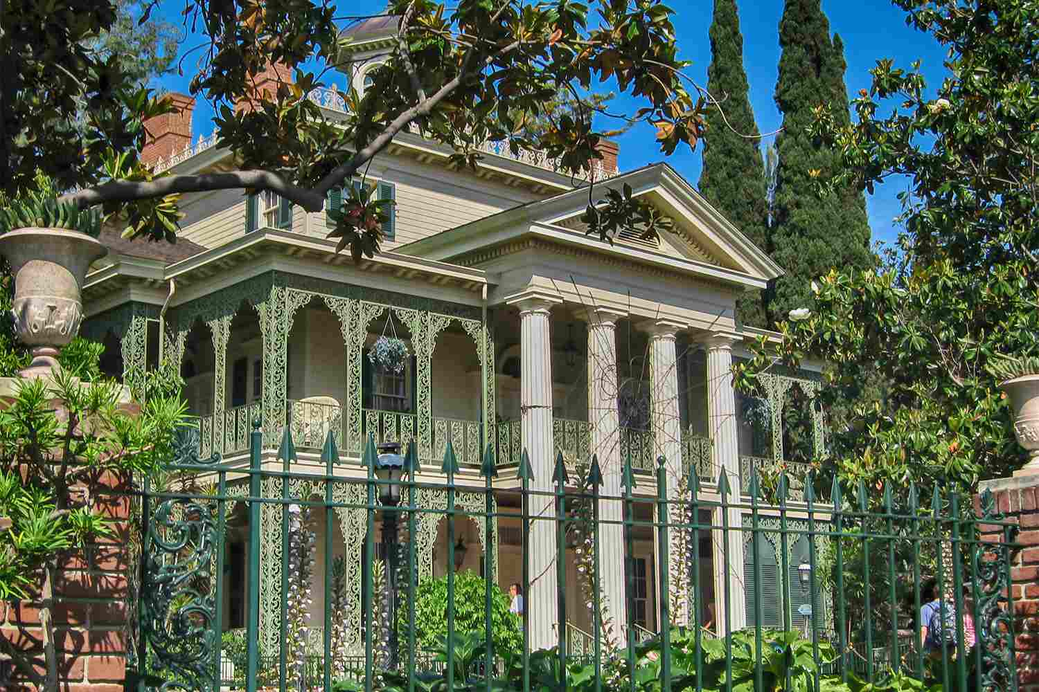 Haunted Mansion in New Orleans Square