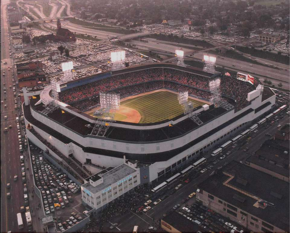 Old Tiger Stadium in Detroit
