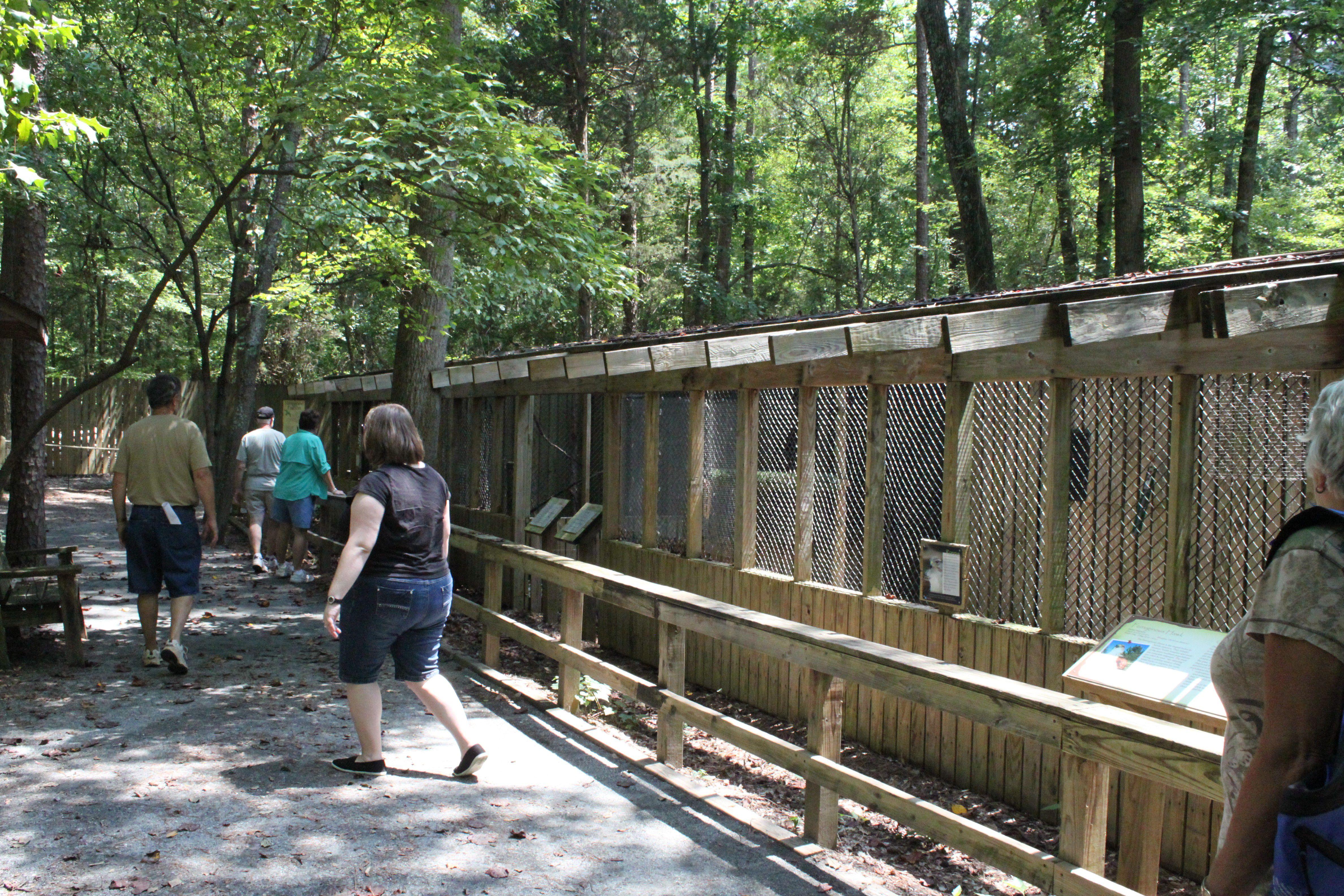 Aviary at the Carolina Raptor Center
