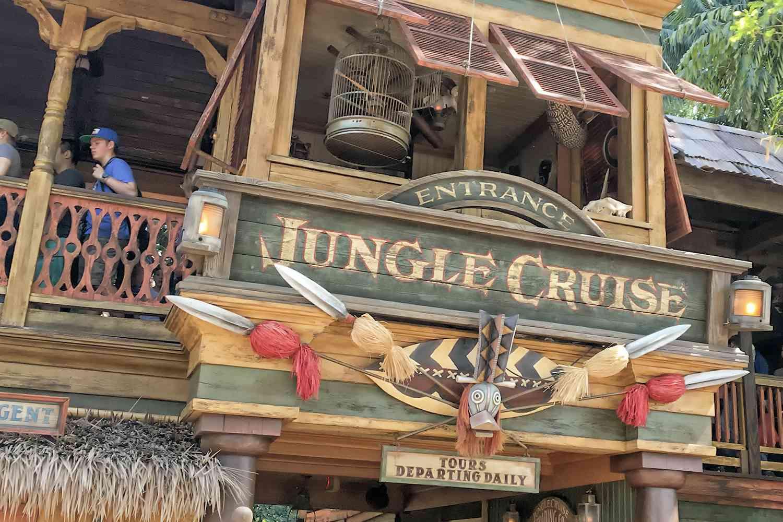 Crucero por la jungla de Disneyland